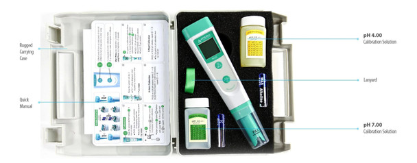 Compact Pocket pH Meter, APERA