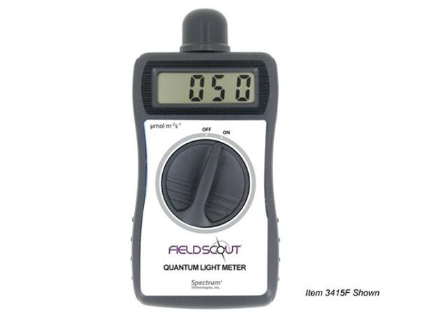 Digital Handheld Quantum Meter, PAR Meter, Solar Light (Lightscout)