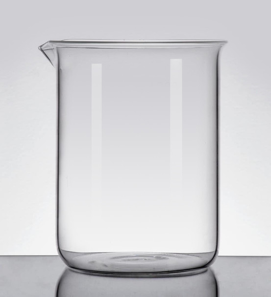 Blank Borosilicate Glass Beaker, Low Form, 250ml (Pack  of 2)