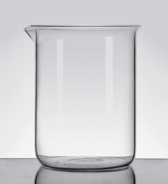 Blank Borosilicate Glass Beaker, Low Form, 400ml (Pack  of 2)