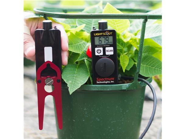 Digital Handheld Quantum Meter,  PAR/DLI Light Meter (Lightscout)