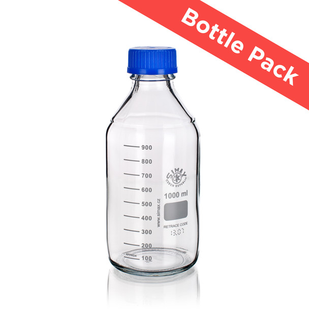 SIMAX® Heatproof Lab Bottle Pack (4 Various Sizes Pack)