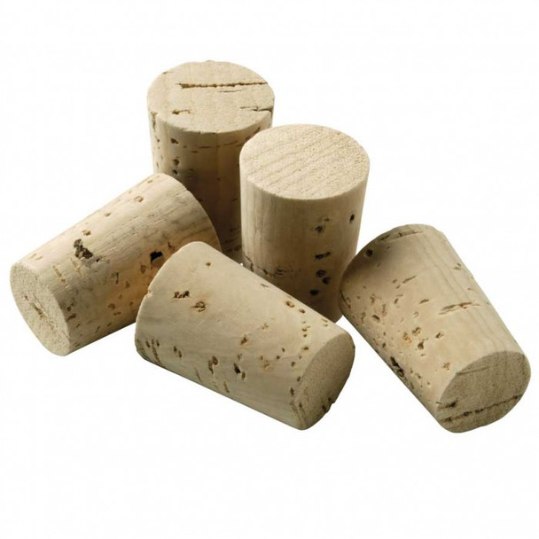 Cork Stoppers Pack, 12 & 13mm Diameter Tubes