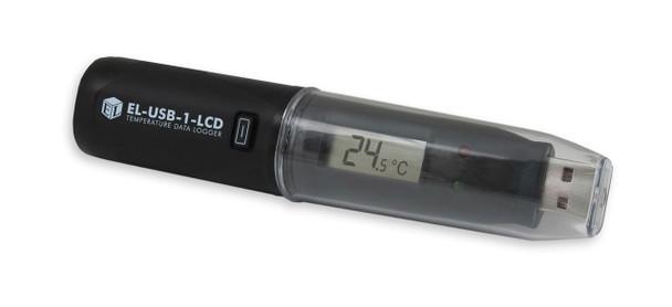 USB Temperature Data Logger, LCD Screen, -35°C to +80°C, EL-USB-1-LCD