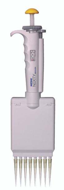 Variable Volume 8 Channel Pipettor, NEXTY, 20~200ul (With Pipette Tips)