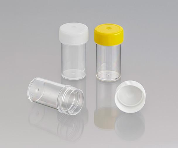Screw Cap Container, Unlabelled, 25ml (Carton of 500)