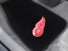 "NHL - Detroit Red Wings 2-pc Embroidered Car Mats 18""x27"""