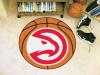 """NBA - Atlanta Hawks Basketball Mat 27"""" diameter"""