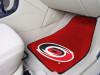"NHL - Carolina Hurricanes 2-pc Printed Carpet Car Mats 17""x27"""