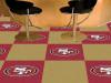 "NFL - San Francisco 49ers 18""x18"" Carpet Tiles"