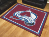 NHL - Colorado Avalanche 8'x10' Rug