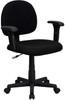 Black Fabric office chair BT-660-1-BK-GG