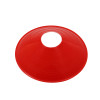 360 Athletics AHLCM7R Saucer Field Cone 7in Red Vinyl