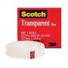 3m Company MMM600121296 Tape Transparent Film 1 / 2 X 1296