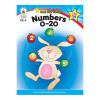 Carson Dellosa CD-104331 Numbers 0-20 Home Workbook Gr Pk-k