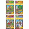 Carson Dellosa DJ-610038 Four Seasons Windows Bb Set Set