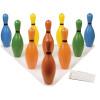 Champion Sports CHSBP10CLR Bowling Pin Set Multi-color
