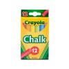 Crayola Llc BIN816 Crayola Colored Low Dust Chalk
