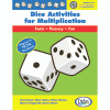 Didax DD-210907 Dice Activities For Multiplication Resource Book Gr 3-6