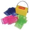 Essential Learning Products ELP001953 Stencil Mill 24 / Pk In Plastic Box