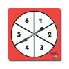 Learning Advantage CTU7347 1-6 Number Spinners