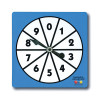 Learning Advantage CTU7349 0-9 Number Spinners