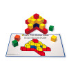 Learning Resources LER0273 Creative Color Cubes Activity Set