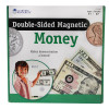 Learning Resources LER5080 Double-sided Magnetic Money