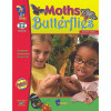 On The Mark Press OTM2143 Moths And Butterflies Gr 3-4