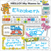 Scholastic Teaching Resources SC-553562 Personal Poster Set My Name