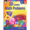Shell Education SEP50775 50 Leveled Math Problems Level 3 W / Cd