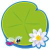 Trend Enterprises Inc. T-10065 Classic Accents Lily Pad One Design