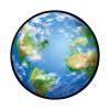 Trend Enterprises Inc. T-10047 Classic Accents Planet Earth 36 / Pk 5 X 5