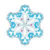 Trend Enterprises Inc. T-10008 Shimmer Snowflakes 24 / Pk Sparkle Accents 5x5