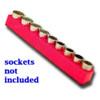 """1/2"""" Drive Magnetic Red Socket Holder   10-19mm"""