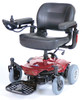 Cobalt X23 Power Wheelchair, Red
