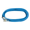 50' Blue All Weather Extension Cord, Lighted End