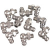 "1/8"" Pipe Thread 90 Degree Angle Fittings - Card of 10"