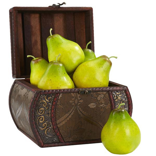 Nearly Natural 2138 Faux Pear (Set of 6)