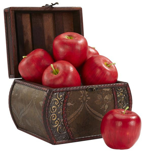 Nearly Natural 2139 Faux Apple (Set of 6)