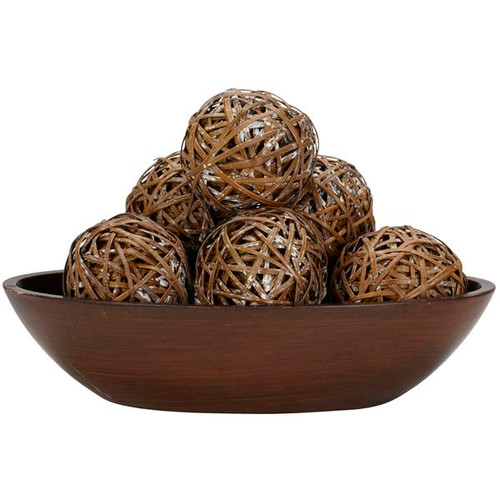 Nearly Natural 3023 Decorative Balls (Set of 6)