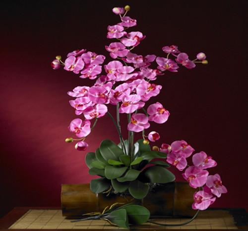 Nearly Natural 2044-DP-12 Phalaenopsis Stem (Set of 12)