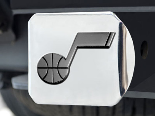 "NBA - Utah Jazz Chrome Hitch Cover 4 1/2""x3 3/8"""