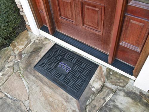 """TCU Door Mat 19.5""""x31.25"""""""