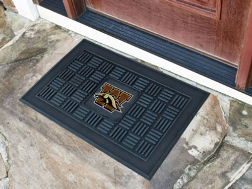 "Western Michigan Door Mat 19.5""x31.25"""