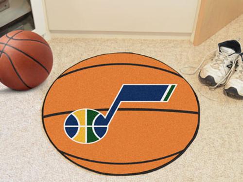 """NBA - Utah Jazz Basketball Mat 27"""" diameter"""