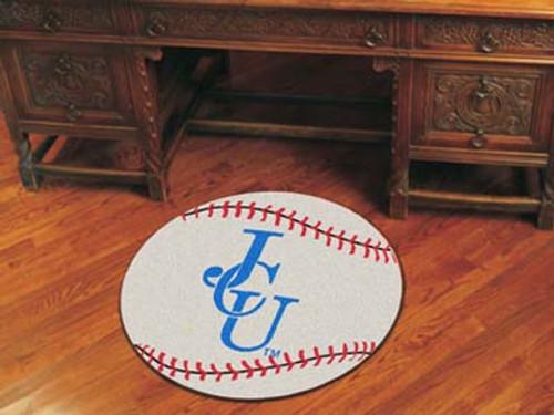 """John Carroll Baseball Mat 27"""" diameter"""