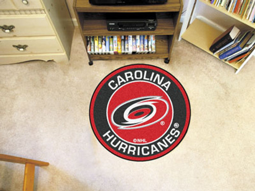 "NHL - Carolina Hurricanes Roundel Mat 27"" diameter"