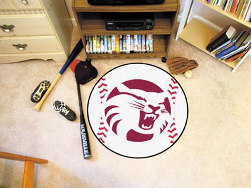"Cal State - Chico Baseball Mat 27"" diameter"
