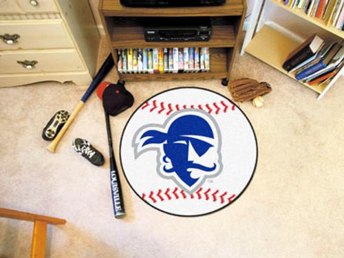 "Seton Hall Baseball Mat 27"" diameter"